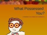 Possessive Noun Rules and Practice