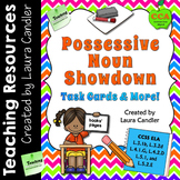 Possessive Nouns Task Cards and Game