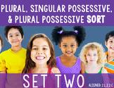 Possessive Noun Sort Set 2