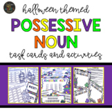 Halloween Possessive Nouns Task Cards and Activities