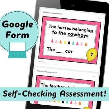 Singular and Plural Possessive Noun Task Cards