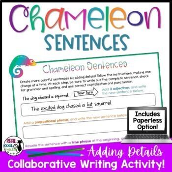 Writing Sentences: Adding Details