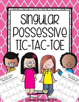 Possessive Noun Tic-Tac-Toe