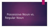 Possessive Noun vs. Regular Noun Powerpoint Presentation