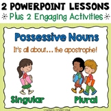 Possessive Nouns PowerPoint Lessons and Activities