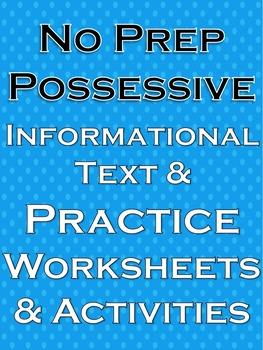 Possessive Nouns Possessive Pronouns Possessives Possessive nouns worksheets