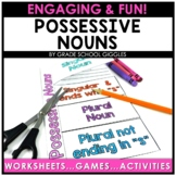 Possessive Nouns Worksheets and Centers