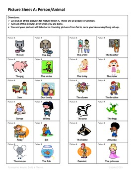 Possessive Nouns: 2nd- 3rd Grade Common Core Activity