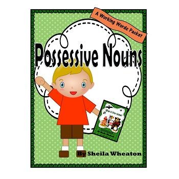 Possessive Nouns:  A Working Words Packet for Young Readers