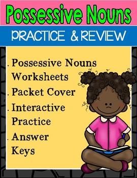 Possessive Nouns Activities