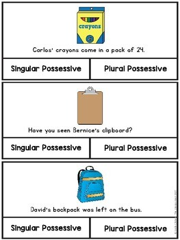 Possessive Nouns Activities and Practice Sheets