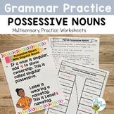 Possessive Nouns | Multisensory Phonics Activities Practic