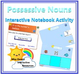 Interactive Possessive Nouns Activity for IWB