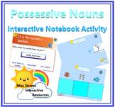 Interactive Possessive Nouns Activity for IWB