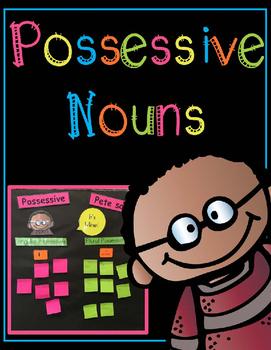 Possessive Nouns Anchor Chart Activity