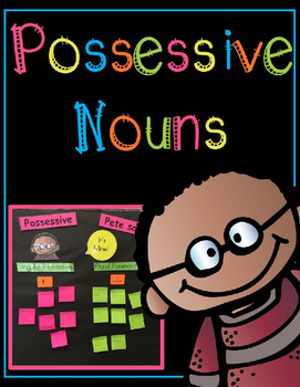 Possessive Nouns Anchor Chart Activity