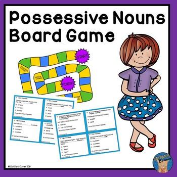 Possessive Nouns Board Game