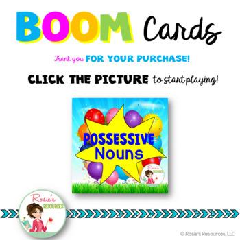 Possessive Nouns Boom Cards
