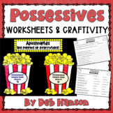Possessive Nouns Craftivity