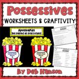 Possessive Nouns Craftivity