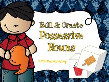 Possessive Nouns Dice Mini-Pack