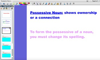 Possessive Nouns Flipchart