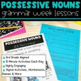 Possessive Nouns | Full Week Lesson Plans for Third Grade