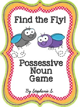 Possessive Nouns Game