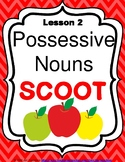 Possessive Nouns Grammar SCOOT or Task Cards
