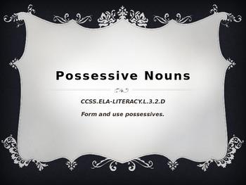 Possessive Nouns (Greedy Apostrophe) Review