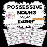 Possessive Nouns Center Activity