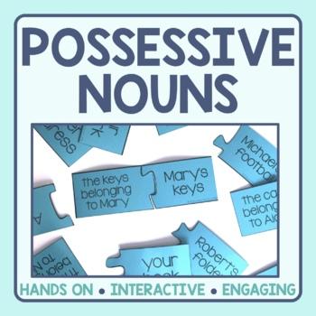 Possessive Nouns Matching Puzzles