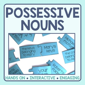 Possessive Nouns Matching Puzzles
