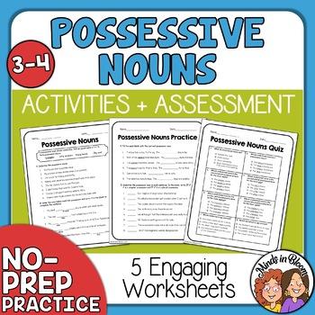 Possessive Nouns Mini-Pack
