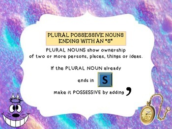 Possessive Nouns - Plural and Singular