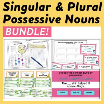 Possessive Nouns Bundle