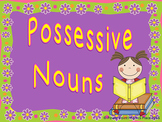 Possessive Nouns - Power Point & Activities/Assessments