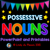 Possessive Nouns PowerPoint and Worksheets