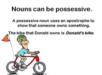 Possessive Nouns Powerpoint