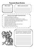 Possessive Nouns Revision Worksheet