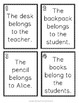 Possessive Nouns Scavenger Hunt Activity: 20 Possessive Noun Task Cards