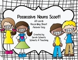 Possessive Nouns Scoot! Task Cards