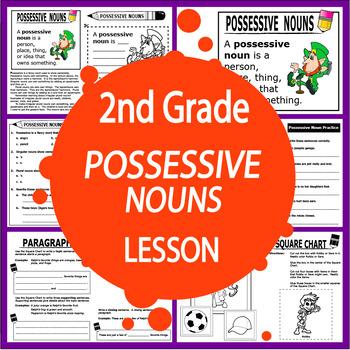 Possessive Nouns Activities Lesson Poster Possessive Nouns Worksheet