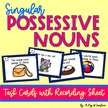 Possessive Nouns (Singular)