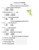 Possessive Nouns Test 3rd Grade