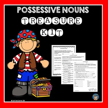 Possessive Nouns Treasure Kit