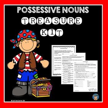 Possessive Nouns Treasure Kit