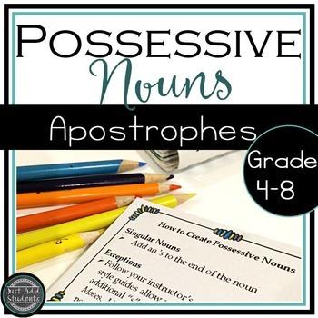 How to Create Possessive Nouns