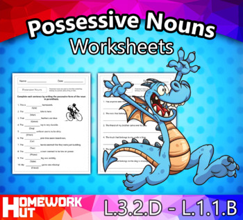 Possessive Nouns Worksheets