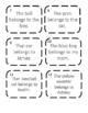 Possessive Nouns Write the Room Activity